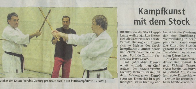 Pressebericht Stockkampf
